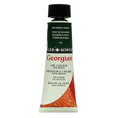 Daler-Rowney Georgian Oil Colours hookers green 75 ml [Pack of 2]