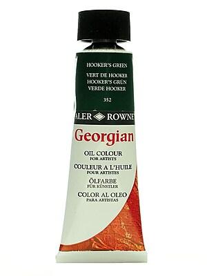 Daler-Rowney Georgian Oil Colours hookers green 75 ml [Pack of 2]