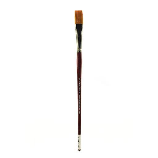 Grumbacher Goldenedge Oil and Acrylic Brush, #10-Flat (91332)