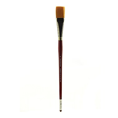 Grumbacher Goldenedge Oil and Acrylic Brush, #12 Flat