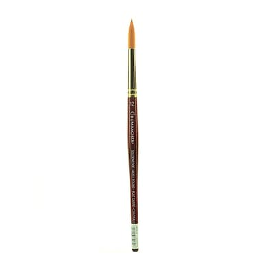 Grumbacher Goldenedge Watercolor Brush, #12-Round (91434)