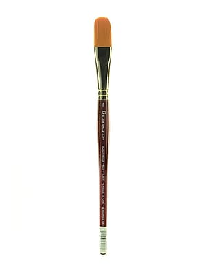 Grumbacher Goldenedge Watercolor Brush, #8 Filbert (91439)