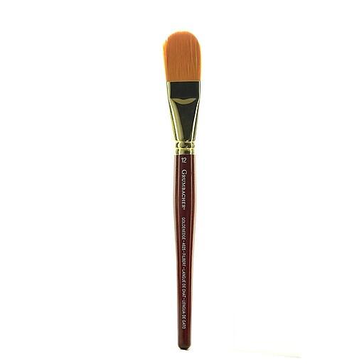 Grumbacher Goldenedge Watercolor Brush 12 Filbert 91441