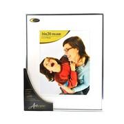 Nielsen Bainbridge Studio Collection Silver Metal Picture Frame 16 in. x 20 in. 11 in. x 14 in. opening