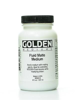 Golden Fluid Matte Medium 8 oz.