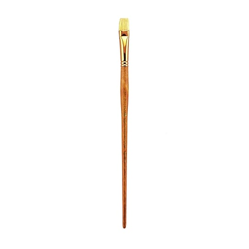 Princeton Series 5400 Natural Bristle Oil and Acrylic Brushes, 8-Bright (62989)