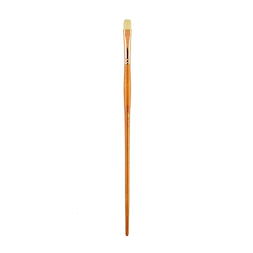 Princeton Series 5400 Natural Bristle Oil and Acrylic Brushes, 6 Bright (62990)