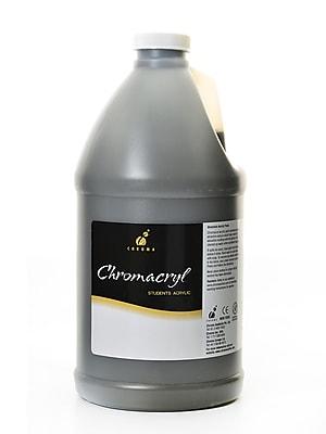 Chroma Inc. Chromacryl Students' Acrylic Paints raw umber 2 liters