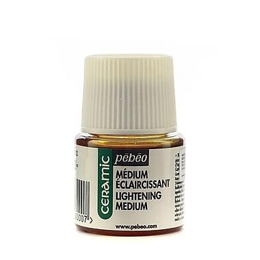 Pebeo Ceramic Air Dry Mediums lightening medium 45 ml [Pack of 3]