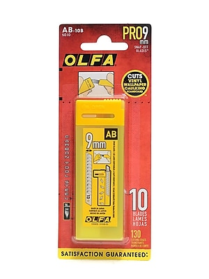 Olfa Art and Craft Replacement Blades, 4/Pack (54923-PK4)
