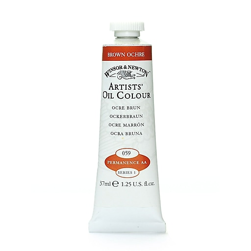 Winsor  and  Newton Artists' Oil Colours brown ochre 59 37 ml