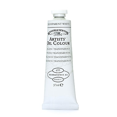 Winsor and Newton Artists' Oil Colours transparent white 655 37 ml