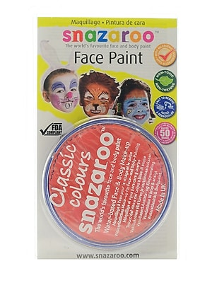 Snazaroo Face Paint Colors orange [Pack of 3]