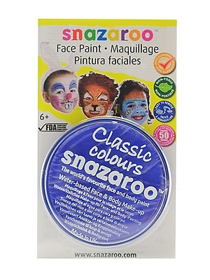 Snazaroo Face Paint Colors sky blue [Pack of 3]