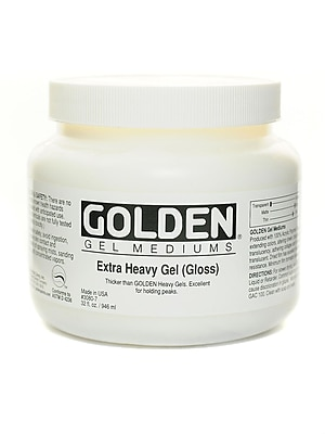 Golden Gel Mediums extra heavy gloss 32 oz.