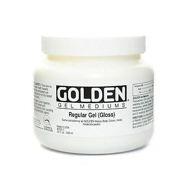 Golden Gel Mediums, Regular Gloss, 32 oz. (69108)