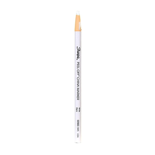 Sharpie China Marking Pencils white each [Pack of 24]