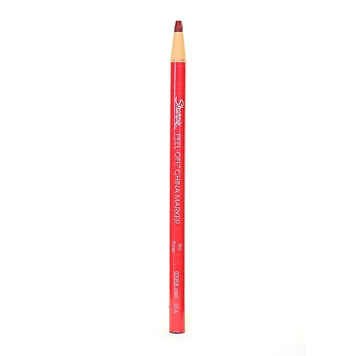 Sharpie China Marking Pencils red each [Pack of 24]