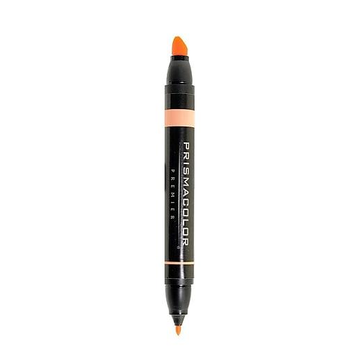Prismacolor Premier Double-Ended Art Markers deco orange 130 [Pack of 6]