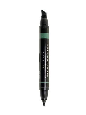 Prismacolor Premier Double-Ended Art Markers dark green 031 [Pack of 6]