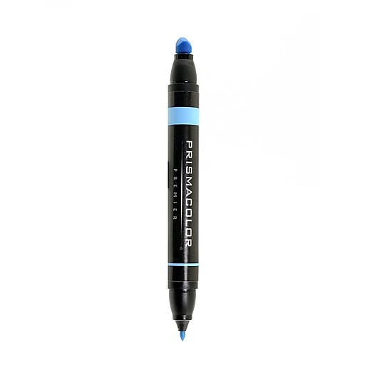 Prismacolor Premier Double-Ended Art Markers light cerulean blue 048 [Pack of 6]