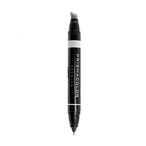 Prismacolor Premier Double-Ended Art Markers warm grey 20% 100 [Pack of 6]