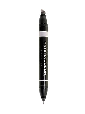 Prismacolor Premier Double-Ended Art Markers warm grey 30% 101 [Pack of 6]