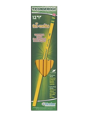 Ticonderoga Tri-Write Pencil each [Pack of 48]