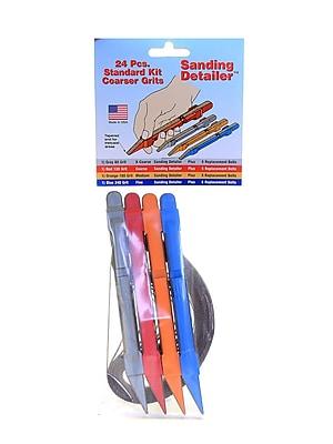 Lumberton Sanding Detailer Standard Kit, Coarser Grits