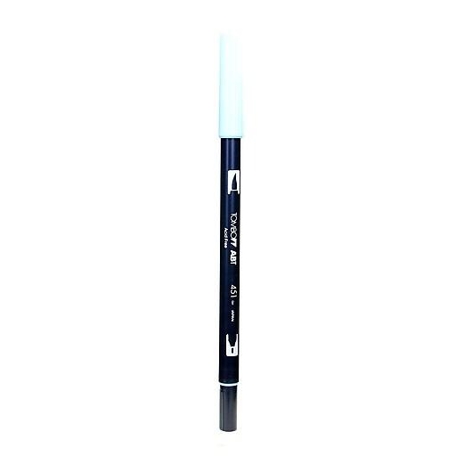 Tombow Dual End Brush Pen, Sky Blue, 12/Pack (10030-PK12)