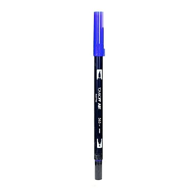 Tombow Dual End Brush Pen Deep Blue [Pack of 12]