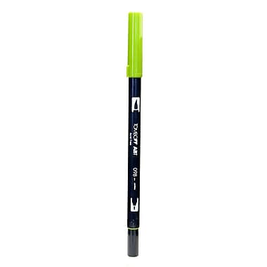 Tombow Dual End Brush Pen avocado [Pack of 12]