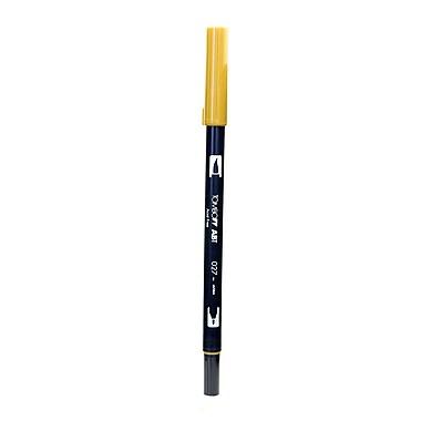 Tombow Dual End Brush Pen dark ochre [Pack of 12]