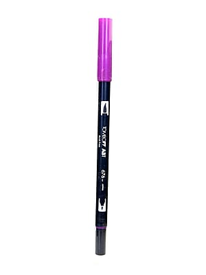 Tombow Dual End Brush Pen royal purple [Pack of 12]