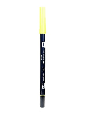 Tombow Dual End Brush Pen process yellow [Pack of 12]