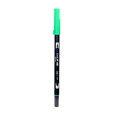 Tombow Dual End Brush Pen sap green [Pack of 12]