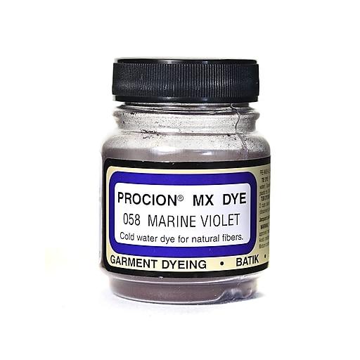 Jacquard Procion MX Fiber Reactive Dye marine violet 058 2/3 oz. [Pack of 3]