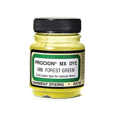 Jacquard Procion MX Fiber Reactive Dye, Forest Green 086, 2/3oz, 3/Pack (58580-PK3)