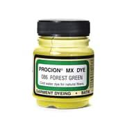 Jacquard Procion MX Fiber Reactive Dye, Forest Green 086, 2/3oz, 3/Pack (58580-PK3)