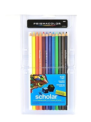 Prismacolor Scholar Art Pencils Set of 12