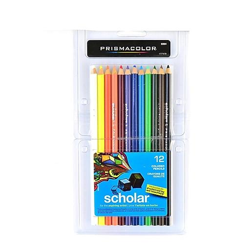 Prismacolor Scholar Art Pencils Set of 12