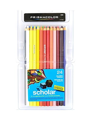Prismacolor Scholar Art Pencils Set Of 24 (64336)