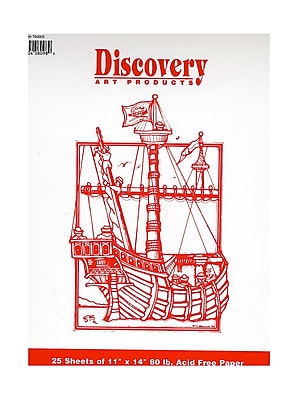 Discovery Drawing Pads 11 in. x 14 in. [Pack of 6]