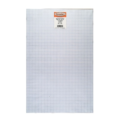 Clearprint Fade-Out Design and Sketch Vellum - 8x8 Grid, 22 in. x 34 in., 10 sheets