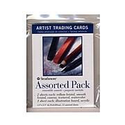 Strathmore 41120-Pk6 Artist Trading Cards, Assorted, 6/Pack