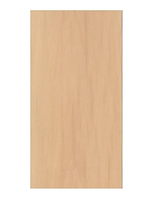 Midwest Basswood Sheets 3/16 in. 6 in. x 24 in. [Pack of 5]
