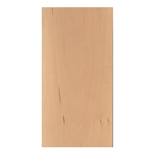 Midwest Basswood Sheets 1/4 In. 6 In. X 24 In. [Pack Of 5]