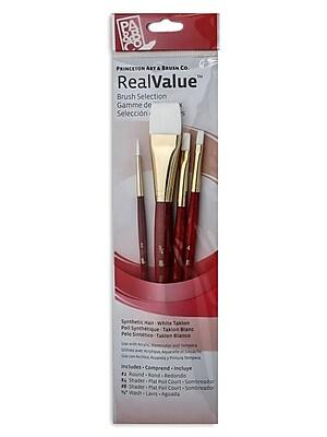 Princeton Real Value Series 9000 Red Short Handled Brush Sets 9125 set of 4