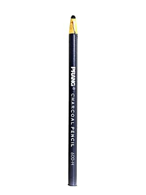 Prang Wrapped Charcoal Pencil hard [Pack of 12]
