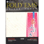 Yasutomo Fold'ems Origami Paper hana fubuki: 6 colors 5 7/8 in. pack of 18 [Pack of 2]
